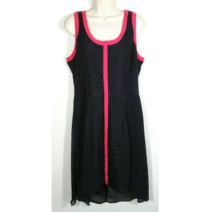 NICOLE by NICOLE MILLER Lace Sheath Dress 2321E1